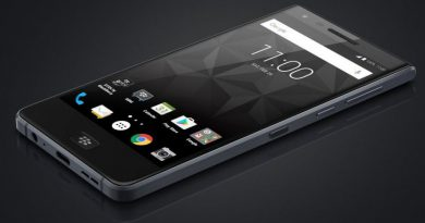 blackberry motion fuite